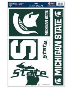 "Michigan State Spartans NCAA 11""x17"" Ultra Decal Sheet"
