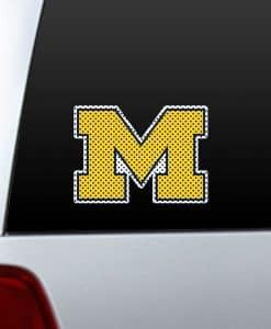 Michigan Wolverines NCAA Die-Cut Window Film – Large