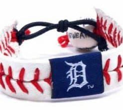 Detroit Tigers Classic Style Baseball Bracelet