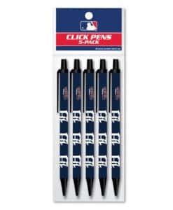 Detroit Tigers Click Pens 5 Pack