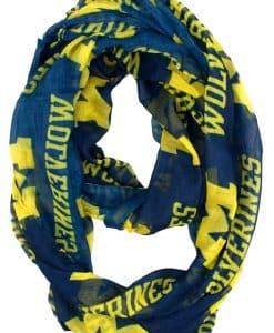 Michigan Wolverines NCAA Infinity Scarf