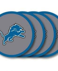 Detroit Lions Coaster Set - 4 Pack