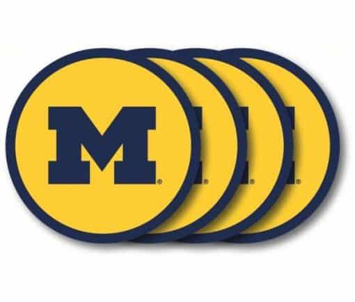 Michigan Wolverines NCAA Coaster Set - 4 Pack