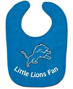 Detroit Lions NFL Baby Bib