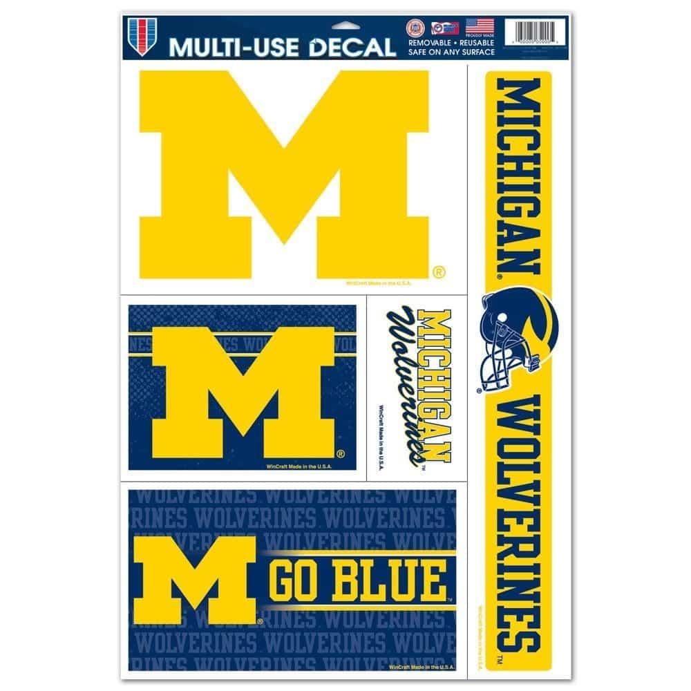 Michigan Wolverines Decals