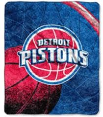 Detroit Pistons Blanket 50x60 Raschel