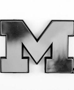 Michigan Wolverines Chrome Auto Emblem