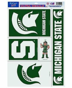 """Michigan State Spartans NCAA 11""""x17"""" Ultra Decal Sheet"""