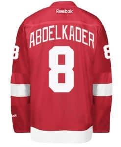 Abdelkader Men's Detroit Red Wings Reebok Premier Home Jersey