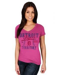 Detroit Tigers 1901 Territory Women's T-Shirt