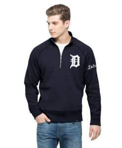 Detroit Tigers 47 Brand 1/4 Zip Pullover