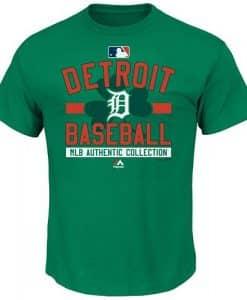 Detroit Tigers MLB St. Patricks Day T-Shirt