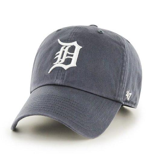Detroit Tigers 47 Vintage Navy Clean Up Adjustable Hat