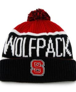 North Carolina State Wolfpack 47 Brand Red Calgary Cuff Knit Hat