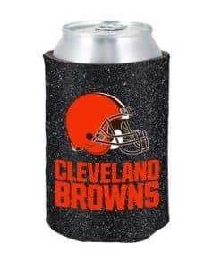 Cleveland Browns Kolder Kaddy Can Holder - Glitter