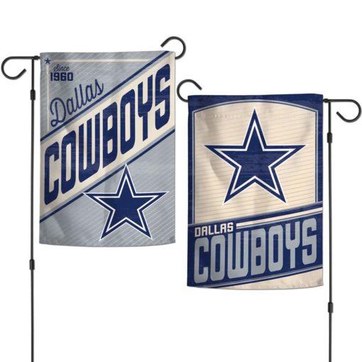 Dallas Cowboys 12.5″x18″ Classic 2 Sided Garden Flag