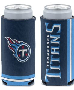 Tennessee Titans 12 oz Navy Slim Can Cooler Holder