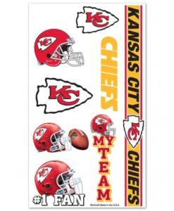 Kansas City Chiefs Temporary Tattoos