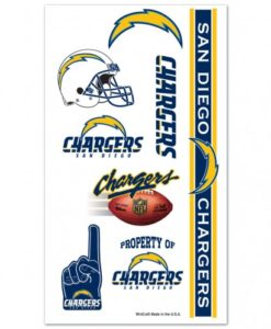 Los Angeles Chargers Temporary Tattoos