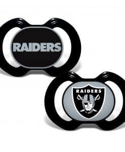Vegas Raiders Pacifiers - 2 Pack