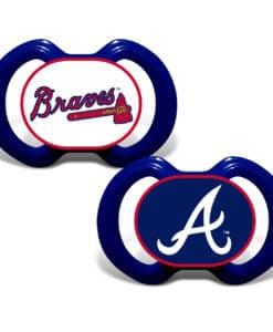 Atlanta Braves Pacifier - 2 Pack