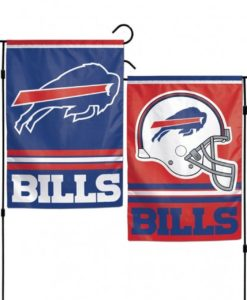Buffalo Bills 12x18 Garden Flag 2 Sided