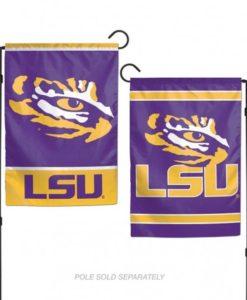 LSU Tigers Flag 12x18 Garden Style 2 Sided