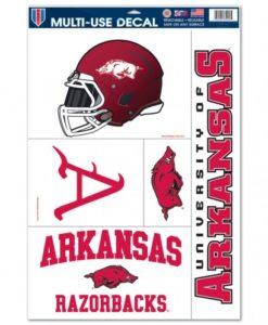 "Arkansas Razorbacks 11""x17"" Ultra Decal Sheet"