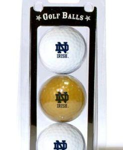 Notre Dame Fighting Irish 3 Pack of Golf Balls