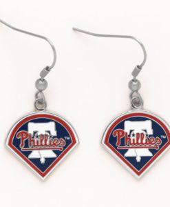 Philadelphia Phillies Dangle Earrings