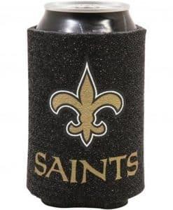 New Orleans Saints Kolder Kaddy Can Holder - Glitter