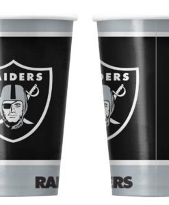 Las Vegas Raiders Disposable Paper Cups