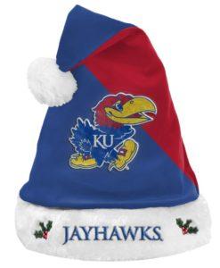 Kansas Jayhawks Santa Hat 2020