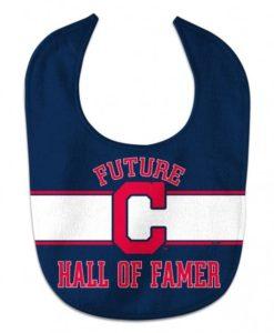 Cleveland Indians Navy Future Hall Of Famer Baby Bib