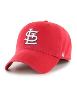 St. Louis Cardinals 47 Brand Classic Red Franchise Fitted Hat