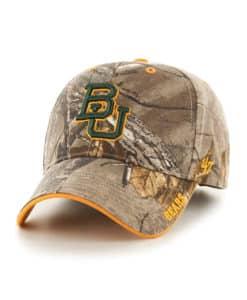Baylor Bears 47 Brand Realtree Camo Frost MVP Adjustable Hat