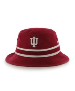 Indiana Hoosiers 47 Brand Dark Red Striped Bucket Hat