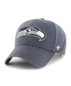 Seattle Seahawks 47 Brand Vintage Navy Legend MVP Adjustable Hat