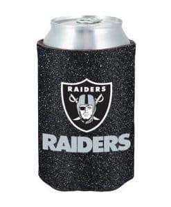 Oakland Raiders Glitter Kolder Kaddy Can Holder