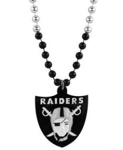 Oakland Raiders Beads