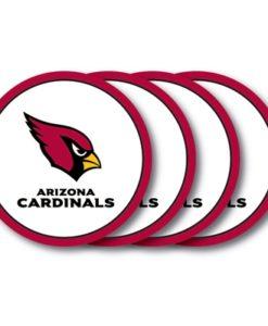 Arizona Cardinals Coaster Set – 4 Pack