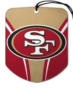 San Francisco 49ers Shield 2 Pack Air Freshener