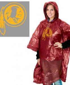 Washington Redskins Hooded Rain Poncho