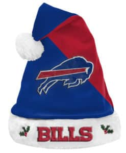 Buffalo Bills Santa Hat 2020