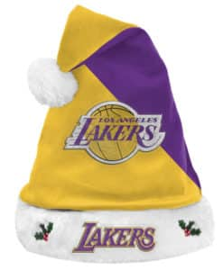 Los Angeles Lakers Santa Hat 2020