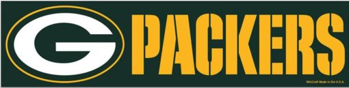 Green Bay Packers Bumper Sticker