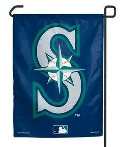 "Seattle Mariners 11""x15"" Garden Flag"