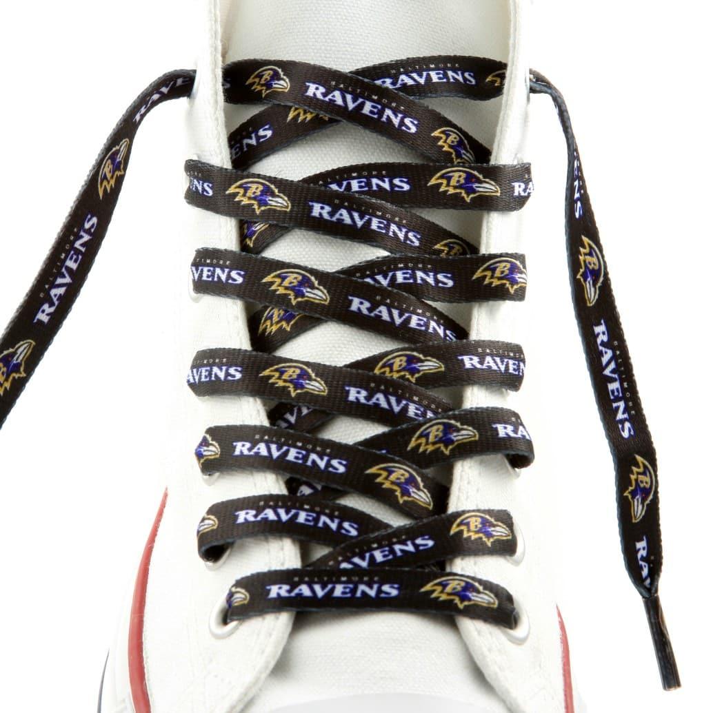 """Baltimore Ravens Shoe Laces - 54"""""""