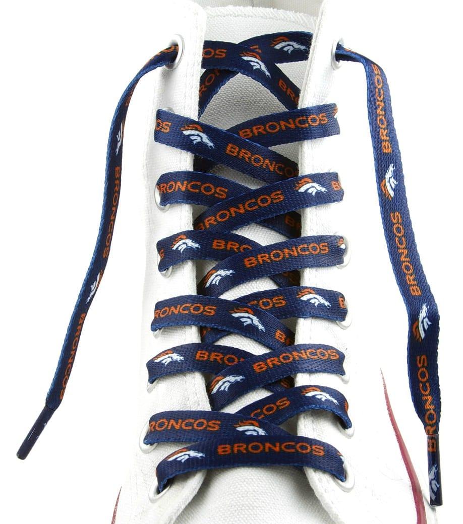 """Denver Broncos Shoe Laces - 54"""""""