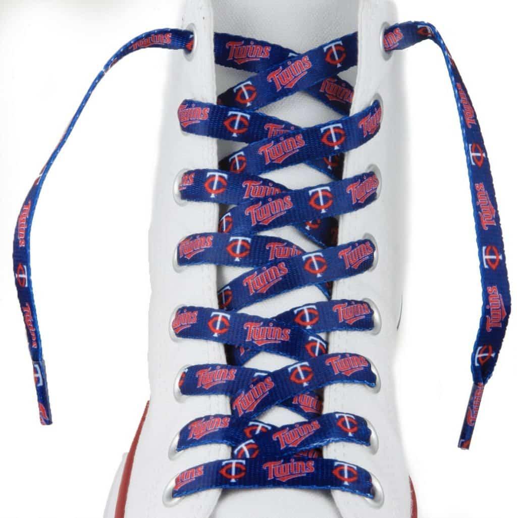 "Minnesota Twins Shoe Laces - 54"""